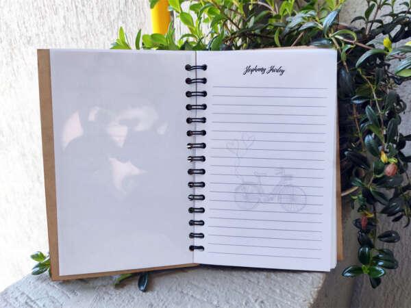 Cuaderno agenda tapa MDF en imprinco