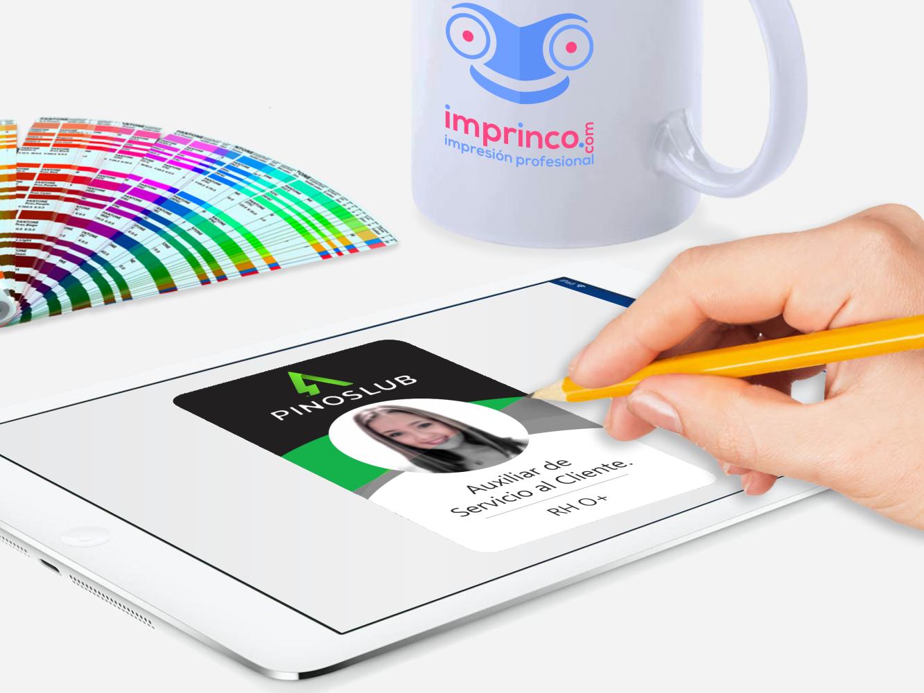 Diseño Gráfico de Carnets imprinco