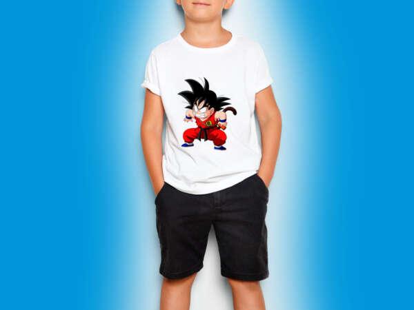 Camiseta Niño blanca estampada imprinco